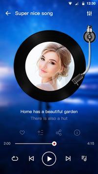 Pemutar musik - Pemutar Audio screenshot 5