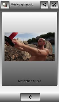 Gym music screenshot 4