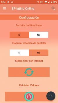 SP latino Online screenshot 1