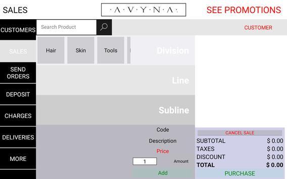 AVYNA screenshot 1
