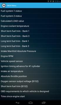 Scanator (OBD2, Check Engine) screenshot 16