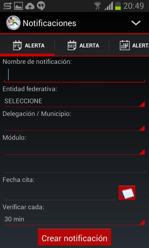 Notificaciones Citas Ife Y Sep For Android Apk Download