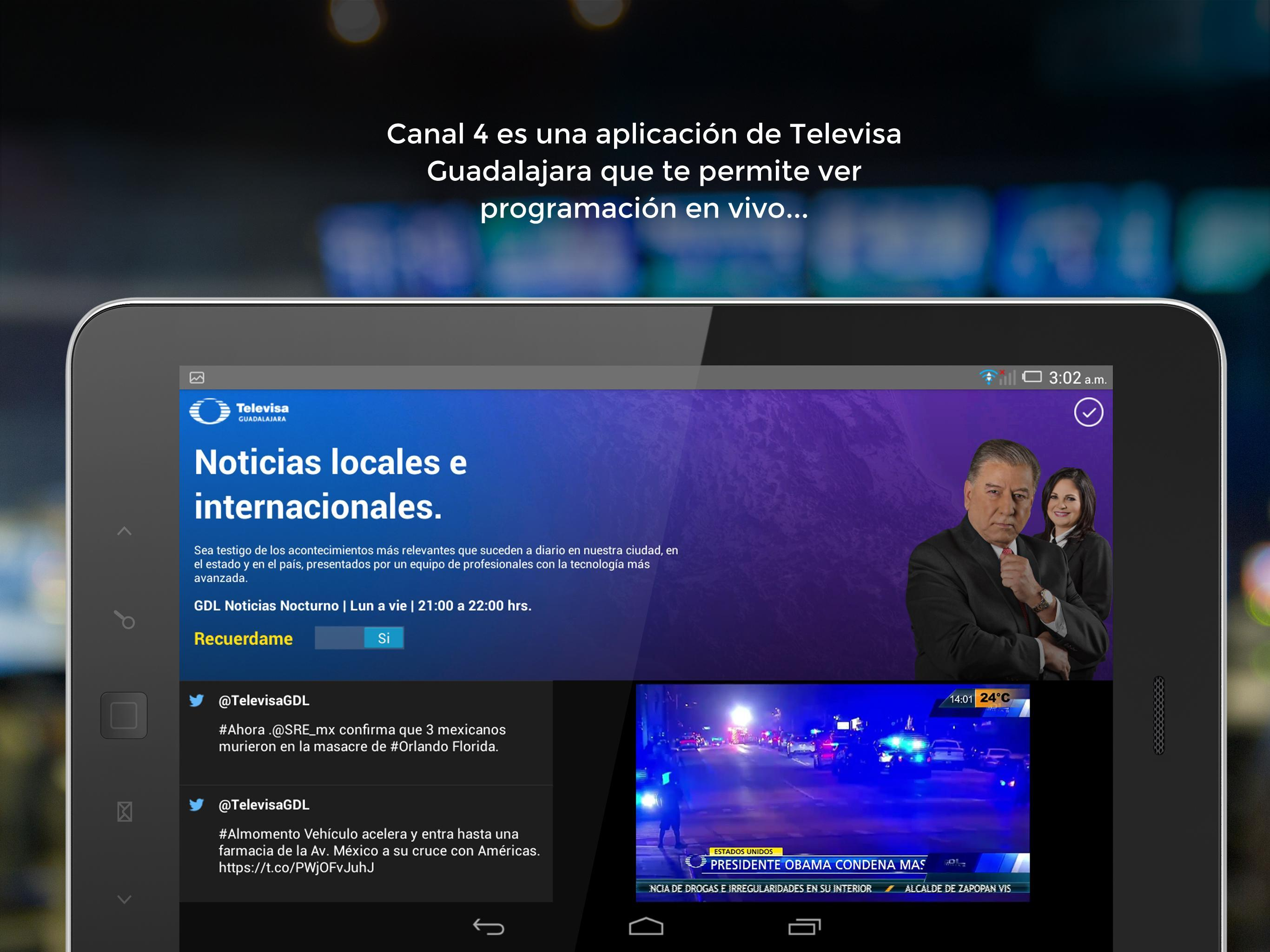 Canal 4 for Android - APK Download