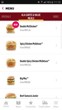 McDelivery syot layar 3