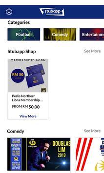 Stubapp screenshot 1