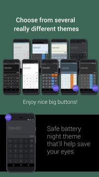 Mobi Calculator free & AD free! تصوير الشاشة 2