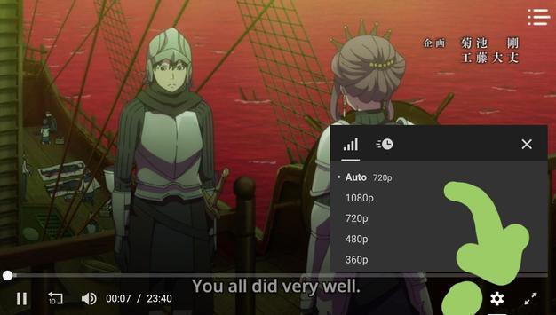 Gotardo Anime captura de pantalla 2