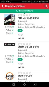 Deliveria screenshot 2