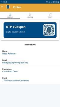 UTP eCoupon screenshot 1