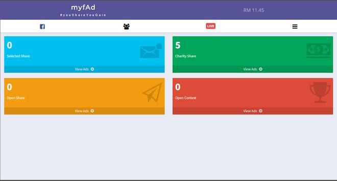 myfAd screenshot 3