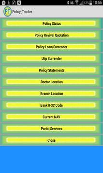 Policy Tracker スクリーンショット 3