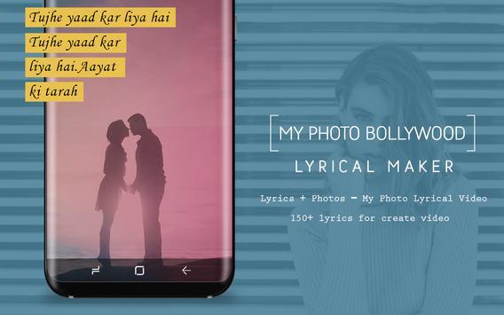 My Photo Bollywood Lyrical Video Status Maker screenshot 8