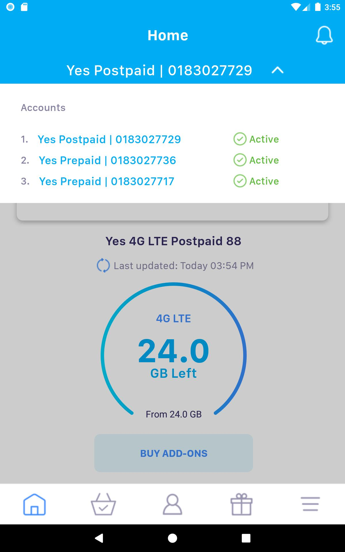 MyYes4G for Android - APK Download