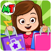 My Town : Shopping Mall. Dress up Shopping Game icon