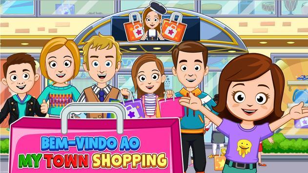 Jogo simulador de shopping virtual Cartaz