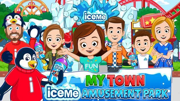My Town : Fun Amusement Park Game for Kids Free plakat
