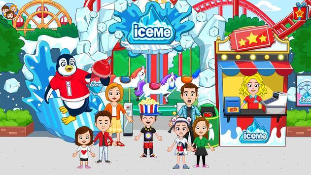 My Town: ICEME مدينة الملاهي تصوير الشاشة 17