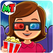 My Town : Cinema & Movie Star - Kids Movie Night ikona