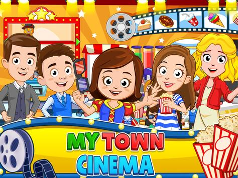 My Town : Cinema & Movie Star - Kids Movie Night screenshot 6