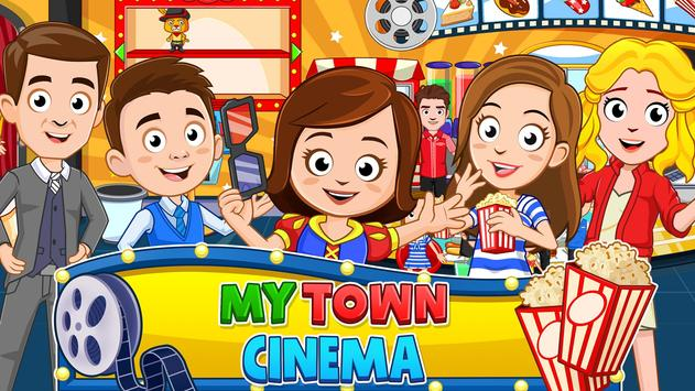 My Town : Cinema & Movie Star - Kids Movie Night plakat