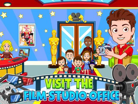 My Town : Cinema & Movie Star - Kids Movie Night screenshot 14