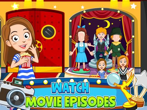 My Town : Cinema & Movie Star - Kids Movie Night screenshot 16