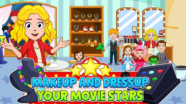 My Town : Cinema & Movie Star - Kids Movie Night screenshot 3