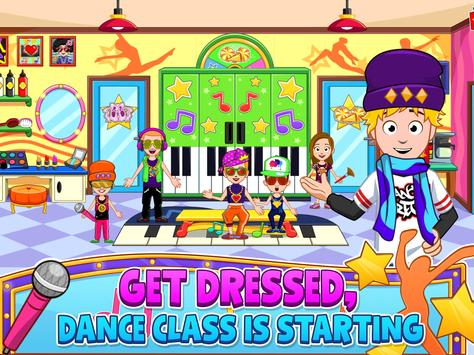 My Town : Dance School. Girls Pretend Dress Up Fun screenshot 14