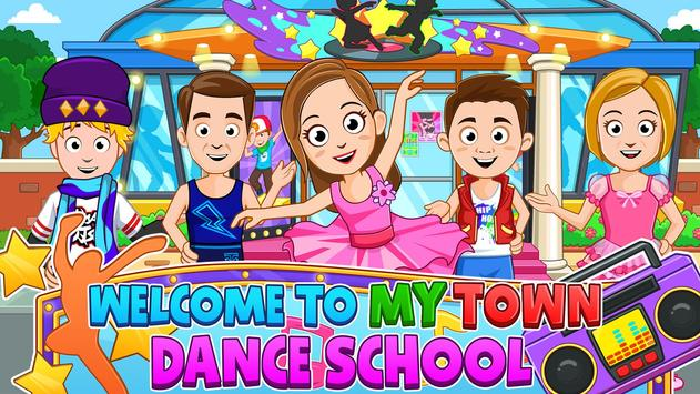 My Town : Dance School. Girls Pretend Dress Up Fun poster