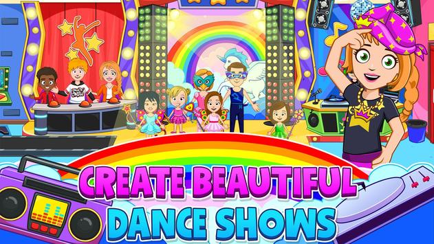 My Town : Dance School. Girls Pretend Dress Up Fun screenshot 4