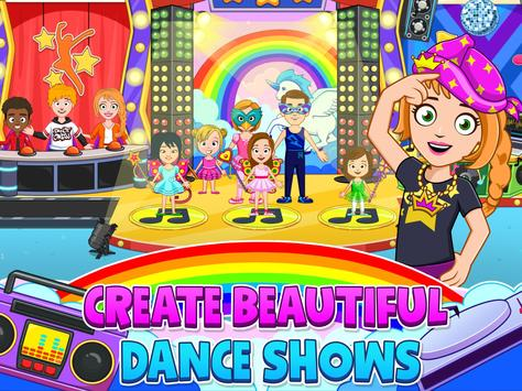 My Town : Dance School. Girls Pretend Dress Up Fun screenshot 8