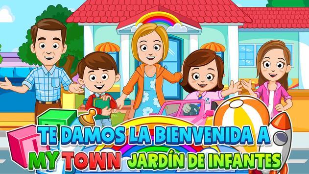 My Town : Preschool Poster