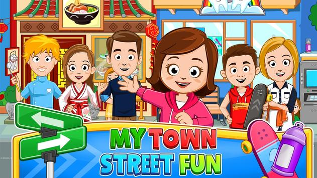 My Town : Street, After School Neighbourhood Fun poster