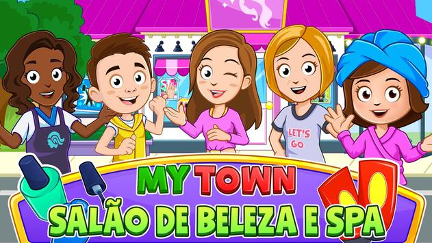 My Town : Beauty Spa Saloon Cartaz