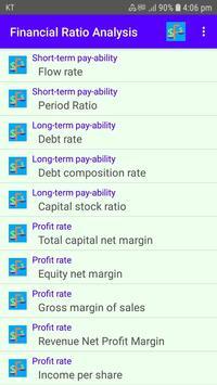 Financial Ratio Analysis poster