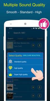 Free Music Downloader + Mp3 Music Download Songs capture d'écran 4
