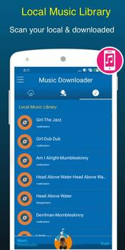 Free Music Downloader + Mp3 Music Download Songs capture d'écran 6