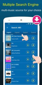 Free Music Downloader + Mp3 Music Download Songs capture d'écran 2