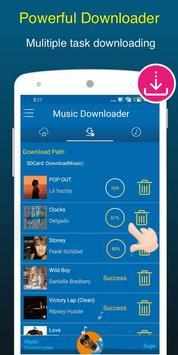 Free Music Downloader + Mp3 Music Download Songs capture d'écran 3