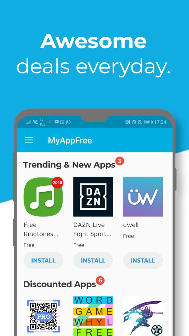 myAppFree – 🕹️ Paid Apps gone Free 🎁 for Android - APK