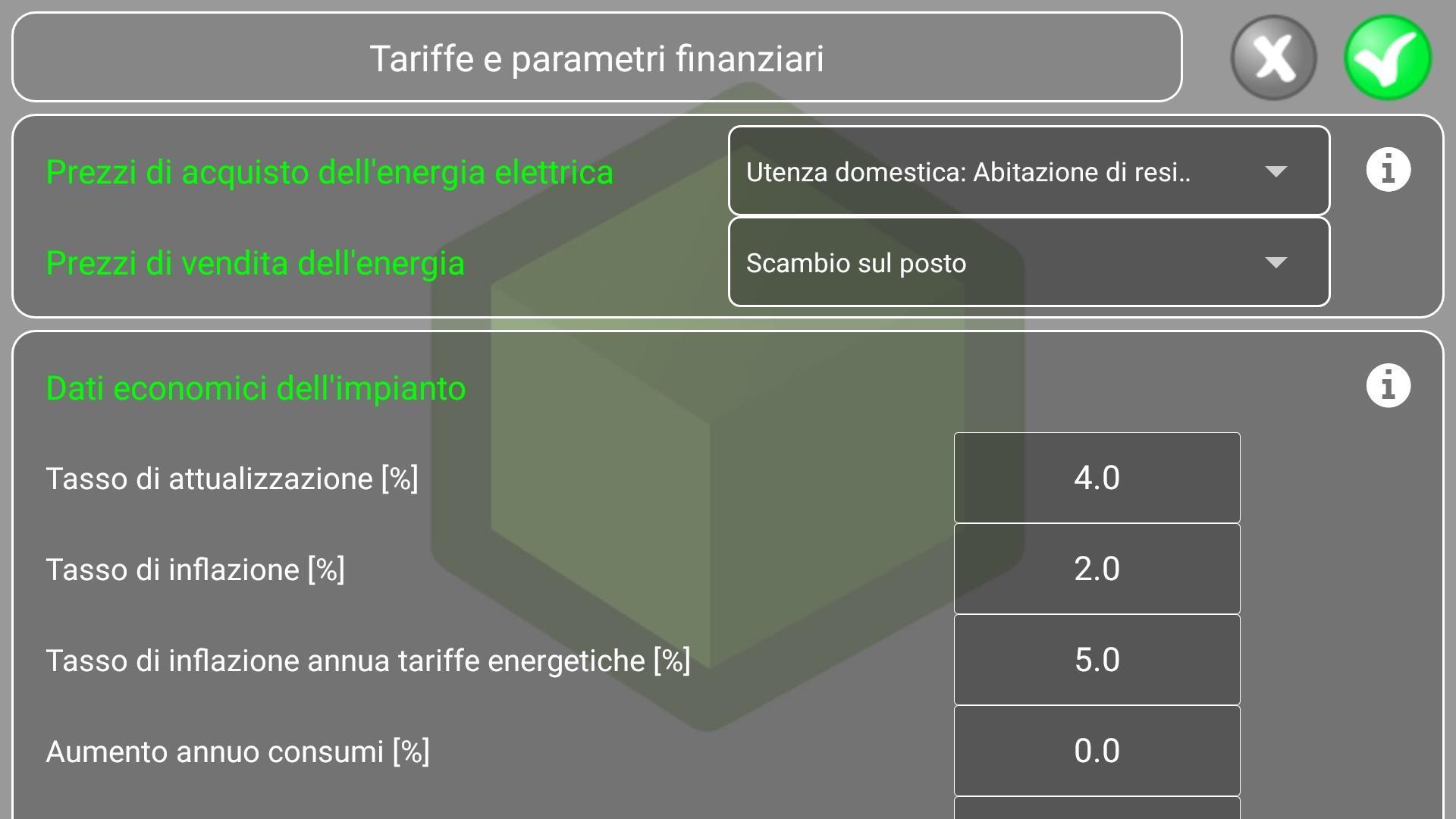 Vendere Energia Elettrica Da Fotovoltaico greenkube - simulatore fotovoltaico for android - apk download