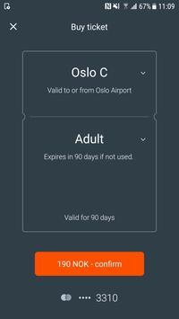Oslo Airport Express screenshot 2