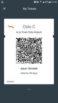 Oslo Airport Express screenshot 3