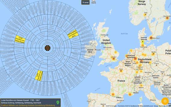 Kinsmap screenshot 5