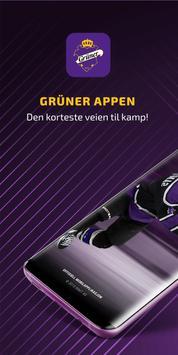 Grüner Ishockey poster