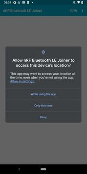Poster nRF Bluetooth LE Joiner