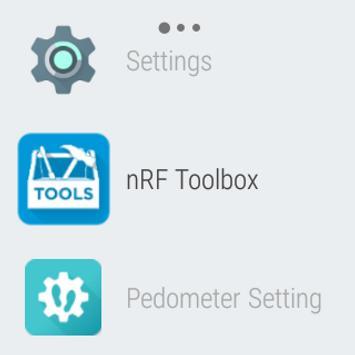 nRF Toolbox screenshot 10