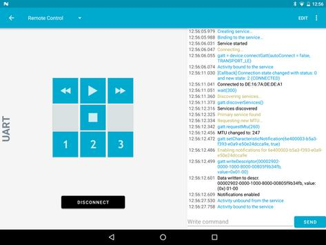 nRF Toolbox screenshot 9