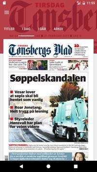 Tønsbergs Blad poster