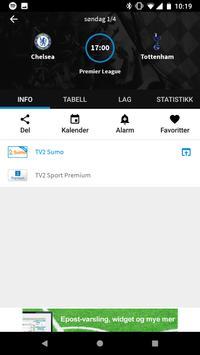1 Schermata TVkampen.com sport på TV